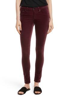 rag & bone/JEAN Velvet Skinny Jeans