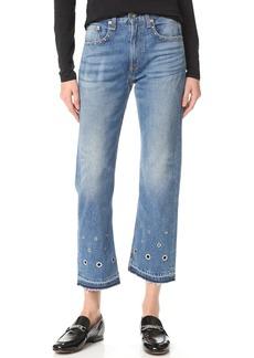 Rag & Bone/JEAN Vintage Crop Jeans
