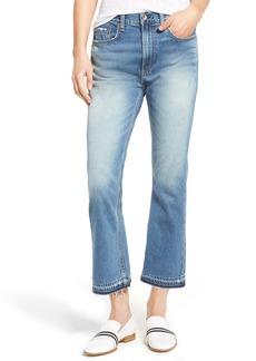 rag & bone/JEAN Vintage High Waist Crop Flare Jeans (Carlsbad)