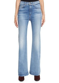 rag & bone/JEAN Wide-Leg High-Waist Jeans