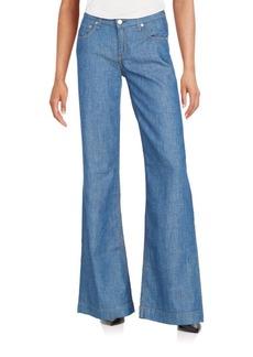 rag & bone/JEAN Wide-Leg Jeans