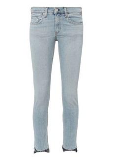 Rag & Bone/JEAN Wiley Raw Step Hem Capri Jeans