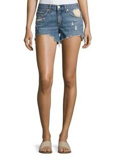 rag & bone/JEAN Winnie Distressed Cutoff Shorts
