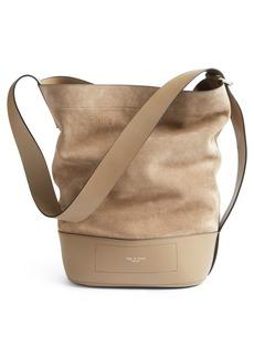 Rag & Bone rag and bone Walker Sling Leather & Suede Bucket Bag