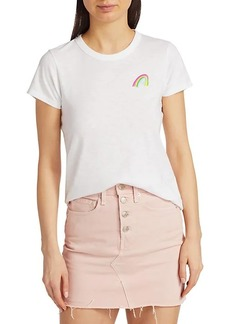 rag & bone Rainbow Pima Cotton T-Shirt
