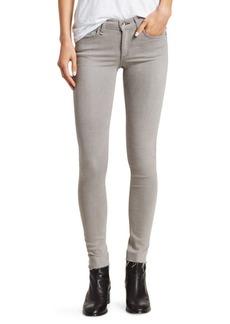 Rag & Bone Mid-Rise Raw Hem Skinny Ankle Jeans