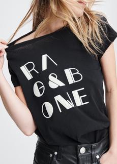 rag & bone RB VINTAGE TEE