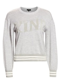 rag & bone Reflective Be Kind Knit Pullover