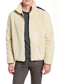 rag & bone Regular Fit Fleece Jacket