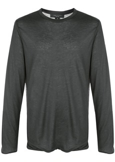 rag & bone reverse long-sleeved T-shirt