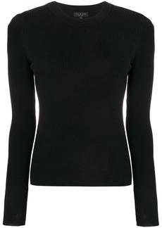 Rag & Bone rib knit fitted sweater