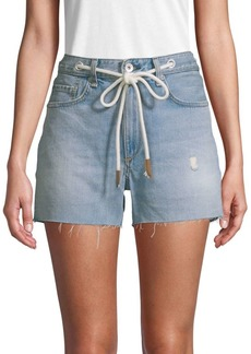 Rag & Bone Rocklyn Drawstring Jean Shorts
