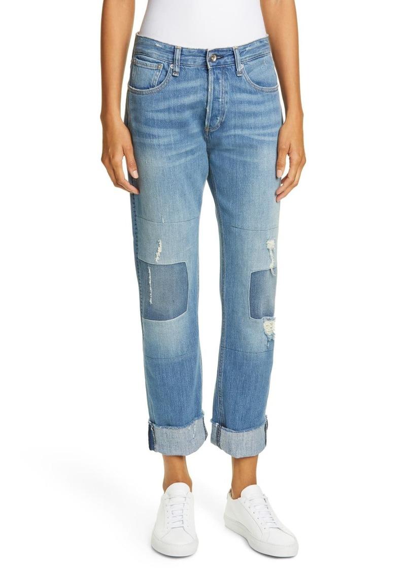 rag & bone Rosa Distressed Boyfriend Jeans (ITO)