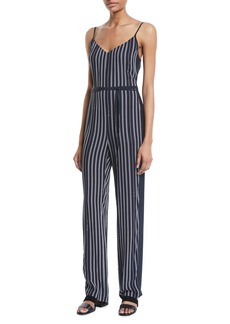 Rag & Bone Rosa Striped Straight-Leg Jumpsuit