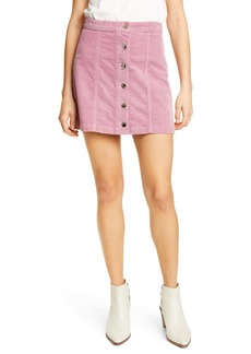 rag & bone Rosie Corduroy Miniskirt