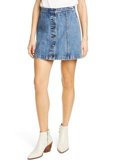 rag & bone Rosie Denim Skirt