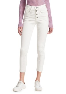 Rag & Bone Rosie Skinny Ankle Raw Hem Corduroy Jeans