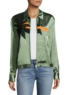 Rag & Bone Roth Embroidered Jacket
