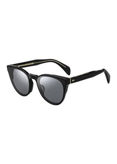 rag & bone Round Acetate Sunglasses