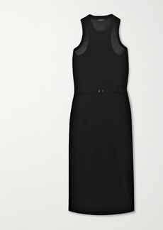rag & bone Rower Belted Lyocell Midi Dress