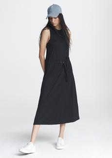 rag & bone ROWER BELTED MIDI DRESS