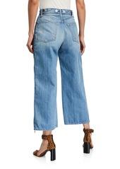 rag & bone Ruth Super High-Rise Ankle Wide-Leg Jeans