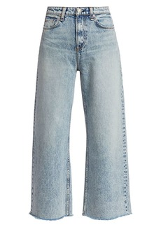 rag & bone Ruth Super High-Rise Ankle Wide Leg Jeans