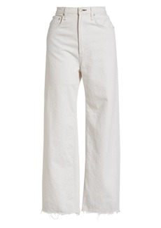 rag & bone Ruth Super High-Rise Wide-Leg Ankle Jeans