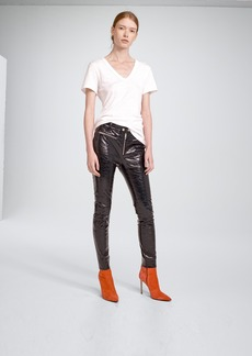 Rag & Bone RYDER CRINKLE LEATHER PANT