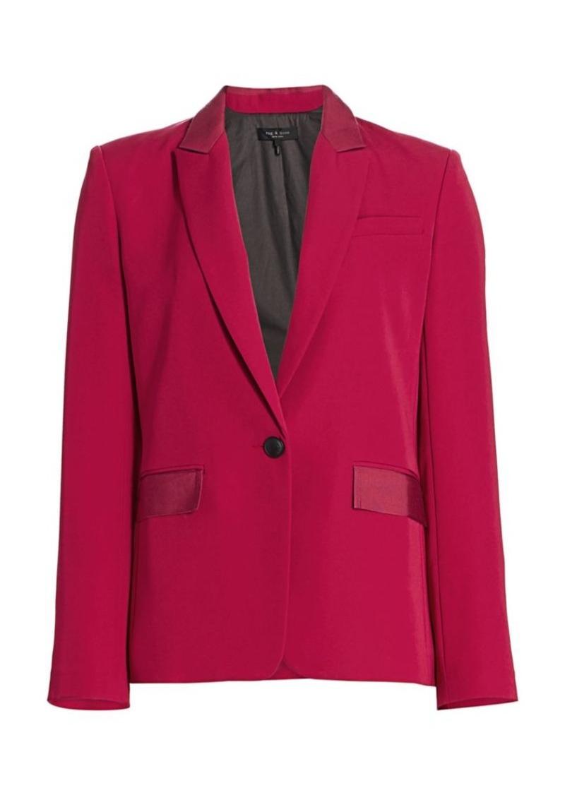 rag & bone Rylie Button-Front Blazer