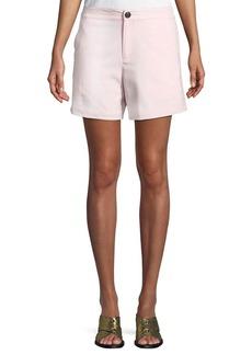 rag & bone Sage Tailored Wool-Stretch Shorts