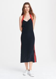 rag & bone SCARLET HALTER DRESS