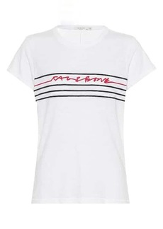 rag & bone Script logo cotton T-shirt