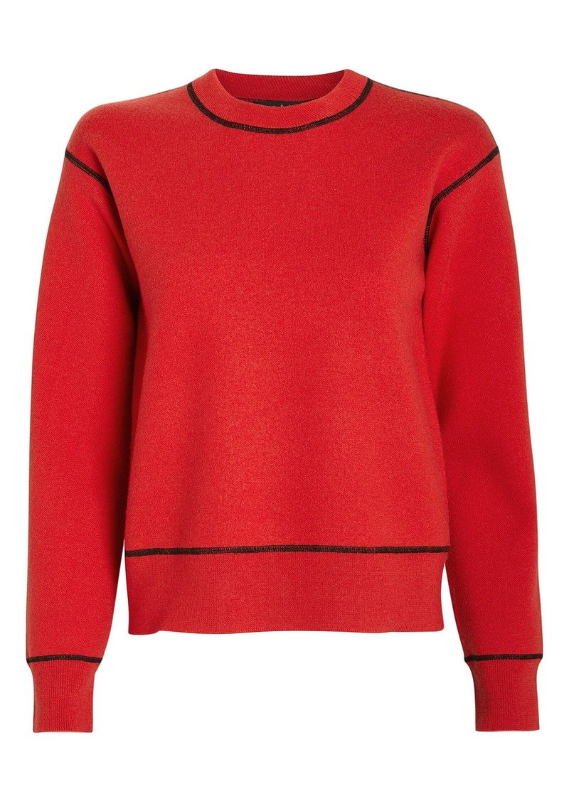 Shannon Merino Wool Crew Sweatshirt