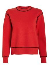 rag & bone Shannon Merino Wool Crew Sweatshirt