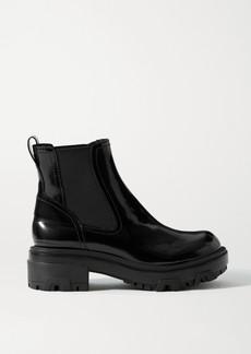 rag & bone Shaye Patent-leather Chelsea Boots