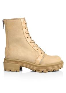 rag & bone Shaye Suede Combat Boots