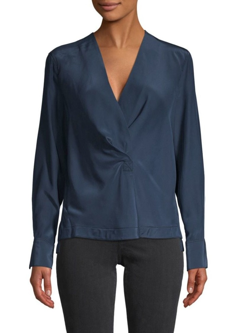 rag & bone Shields Silk Blouse