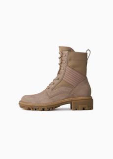 rag & bone Shiloh Lace Up Jungle Boot - Suede