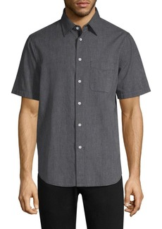 Rag & Bone Short-Sleeve Button-Down