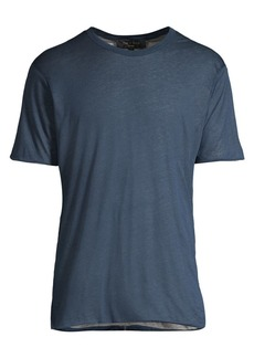 rag & bone Short-Sleeve Reverse Tee