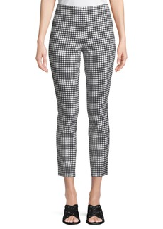 Rag & Bone Simone Cropped Gingham Pants