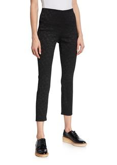 rag & bone Simone Jacquard Skinny-Leg Pants