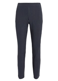 Rag & Bone Simone Navy Pinstriped Pants