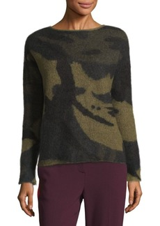Rag & Bone Sinclair Camo Sweater