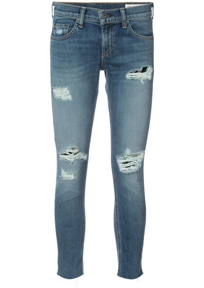 Rag & Bone skinny cropped jeans