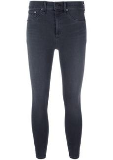 Rag & Bone skinny cropped trousers