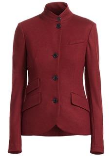 rag & bone Slade Wool Mandarin-Collar Blazer