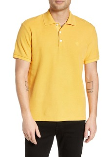 rag & bone Slim Fit Pique Polo