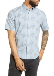 rag & bone Smith Short Sleeve Button-Down Shirt